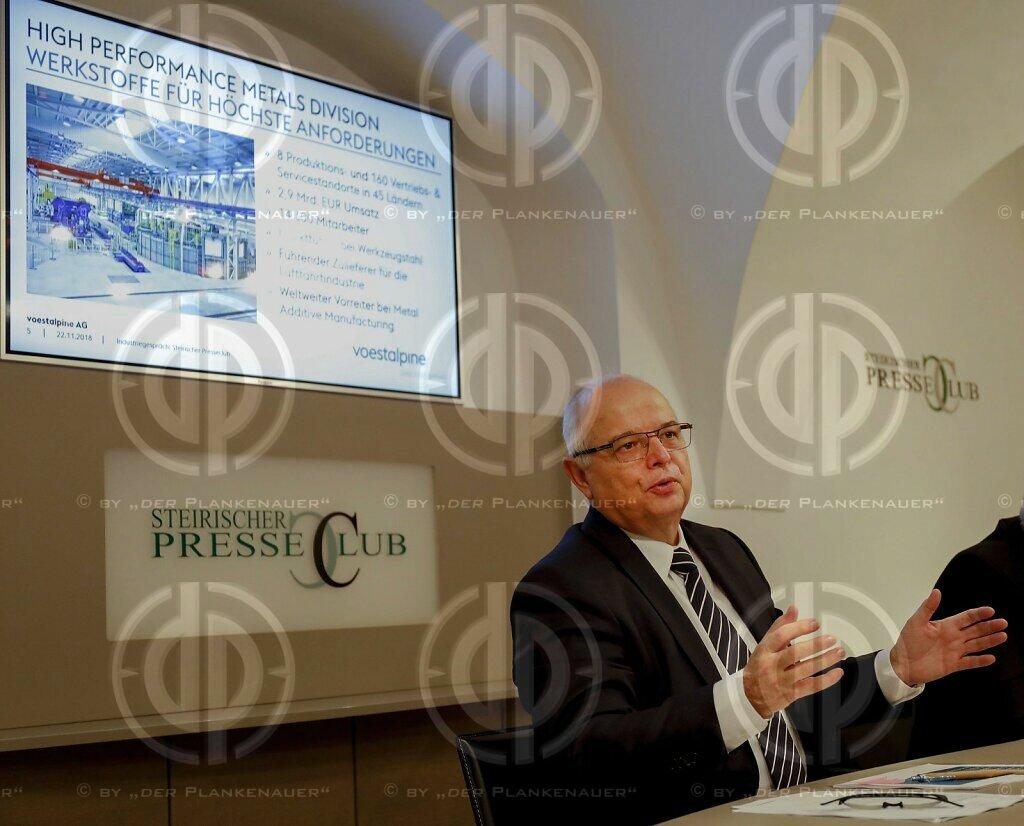 Industriegespraech mit Dipl.-Ing. Franz ROTTER