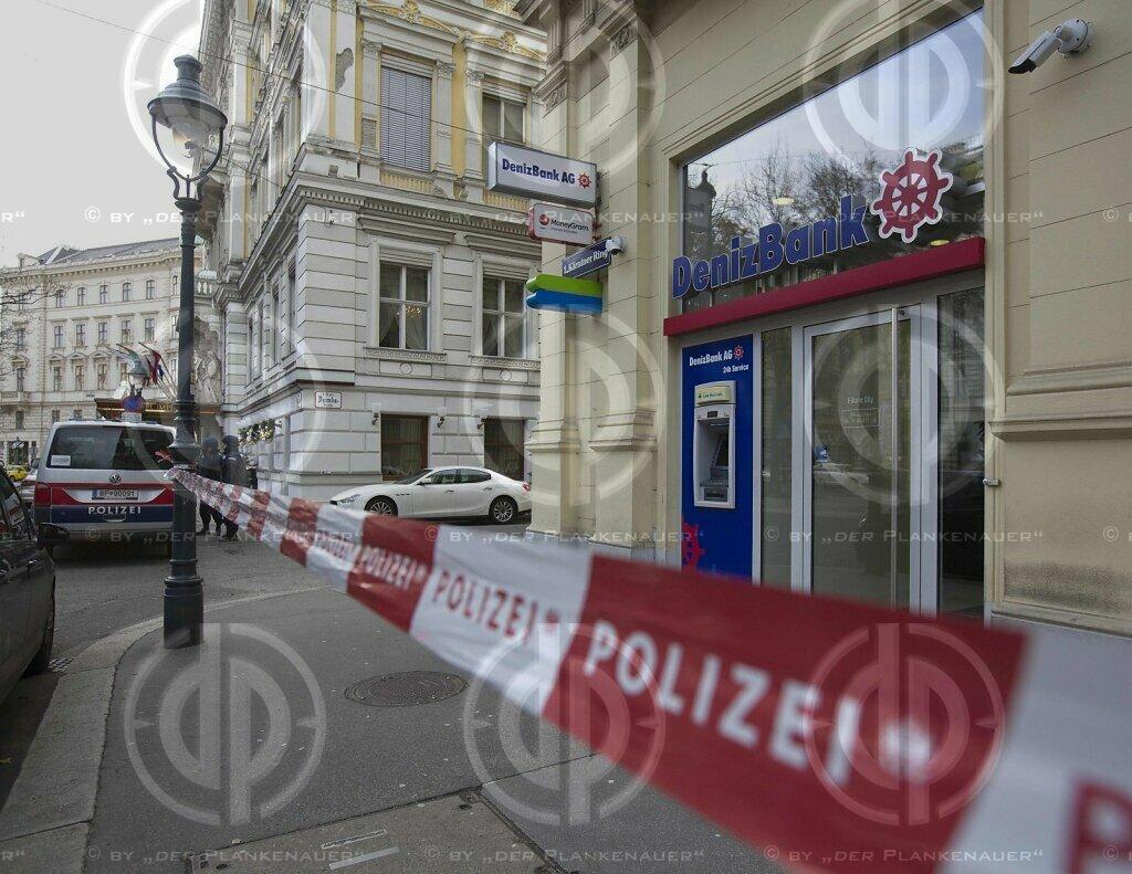 Ueberfall auf Bank in Wien