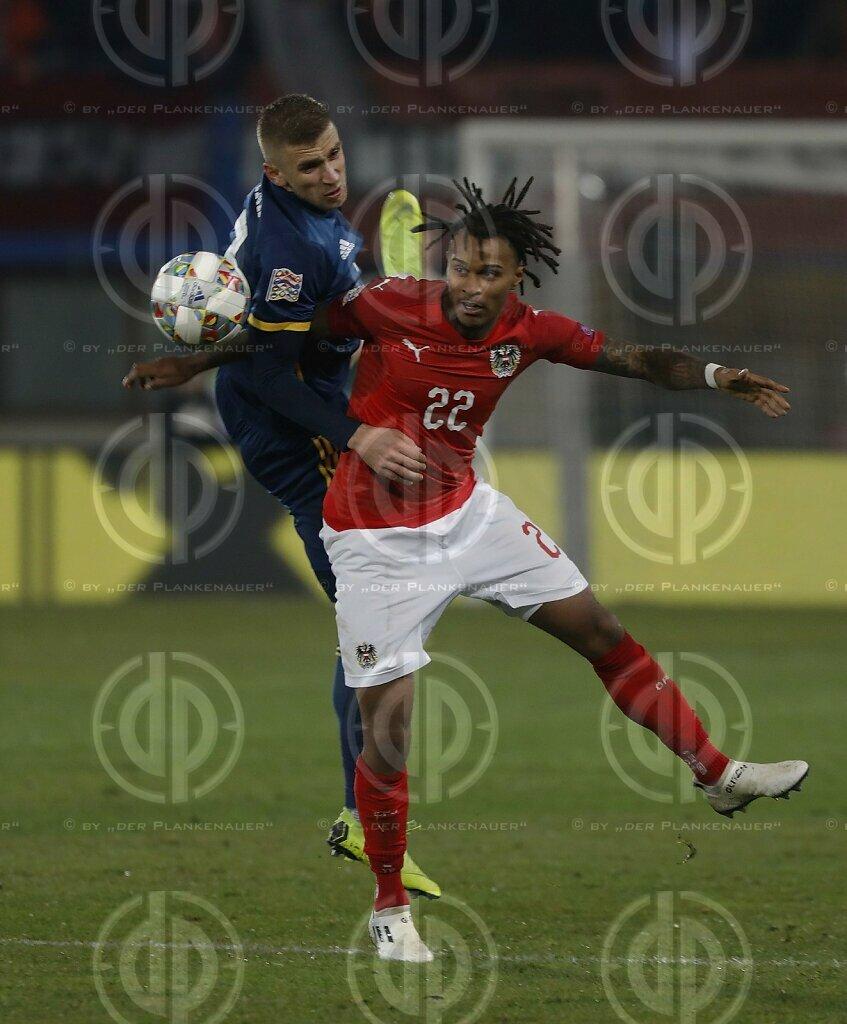 Laenderspiel UNL Oesterreich vs. Bosnien/Herzegowina (0:0)