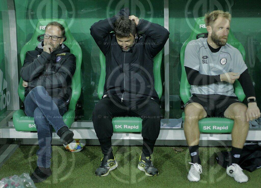 SK Rapid vs. SK Sturm (0:0)