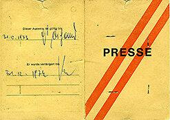 Unterschrift von Hans DICHAND