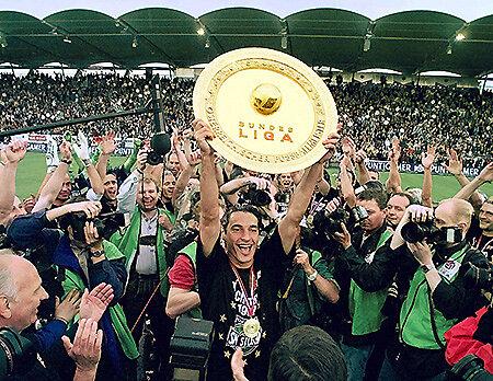SK Sturms erster Meistertitel 1998