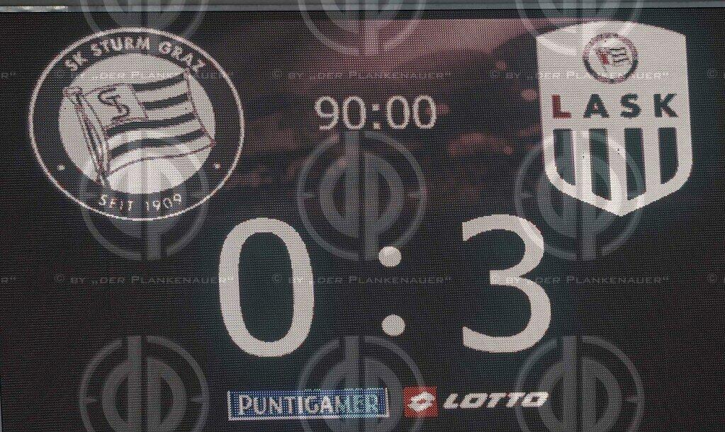 SK Sturm vs. LASK (0:3)