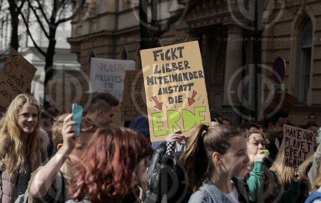 Protestdemo fürs Klima - Graz