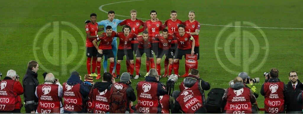 Länderspiel EM-Q. Österreich vs. Polen (0:1)