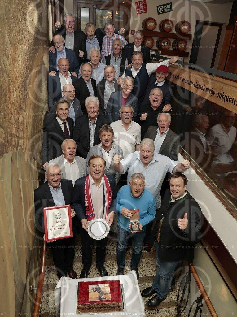 GAK Meistermannschaft 1975, Legendentreffen am 05.04.2019