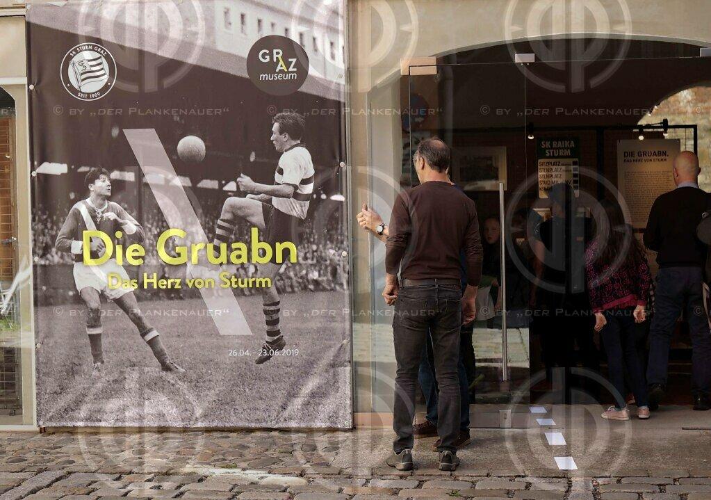Ausstellung Die Gruabn - Das Herz von Sturm