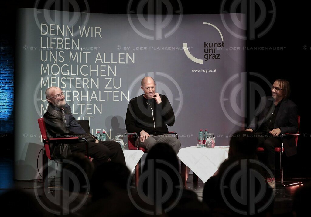 Round Table mit Phil Collins an der KUG