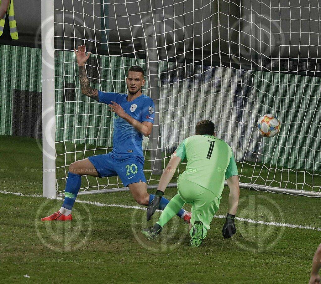 Länderspiel EM-Q. Österreich vs. Slowenien (1:0)