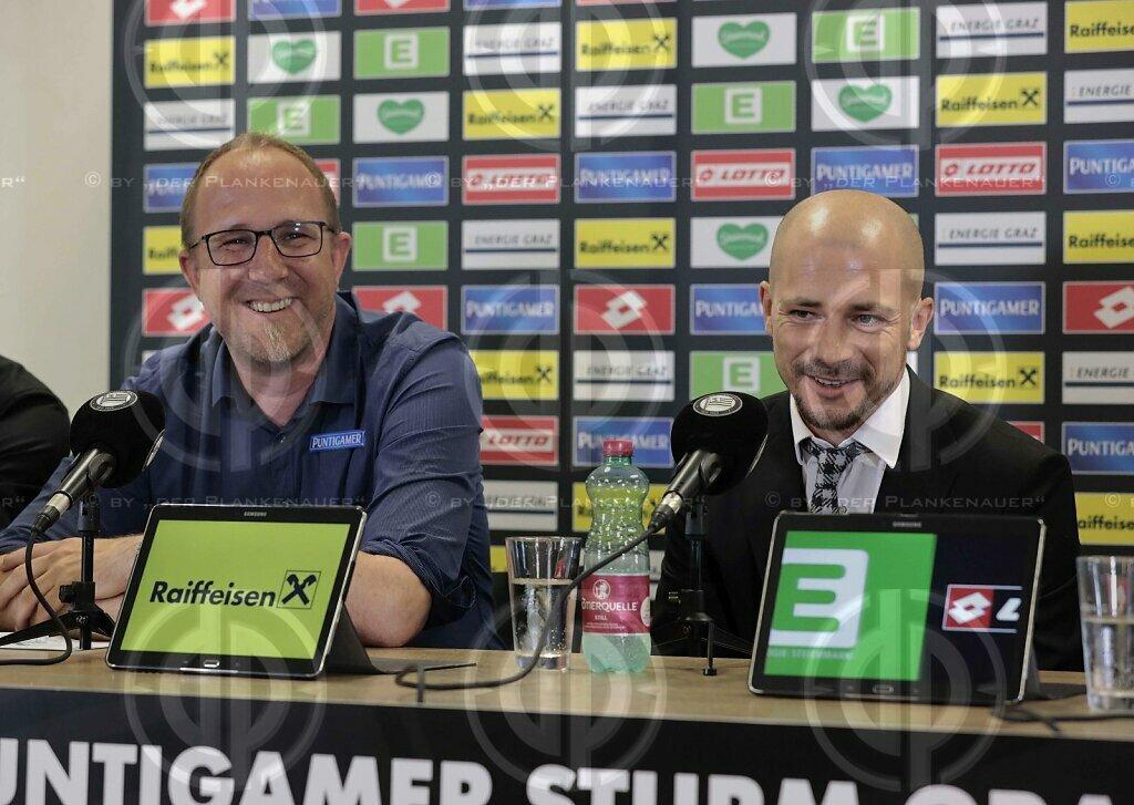 SK Sturm - Nestor El  Maestro neuer Cheftrainer