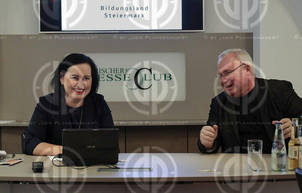 Bildungsdirektorin Meixner im Steirischen Presseclub