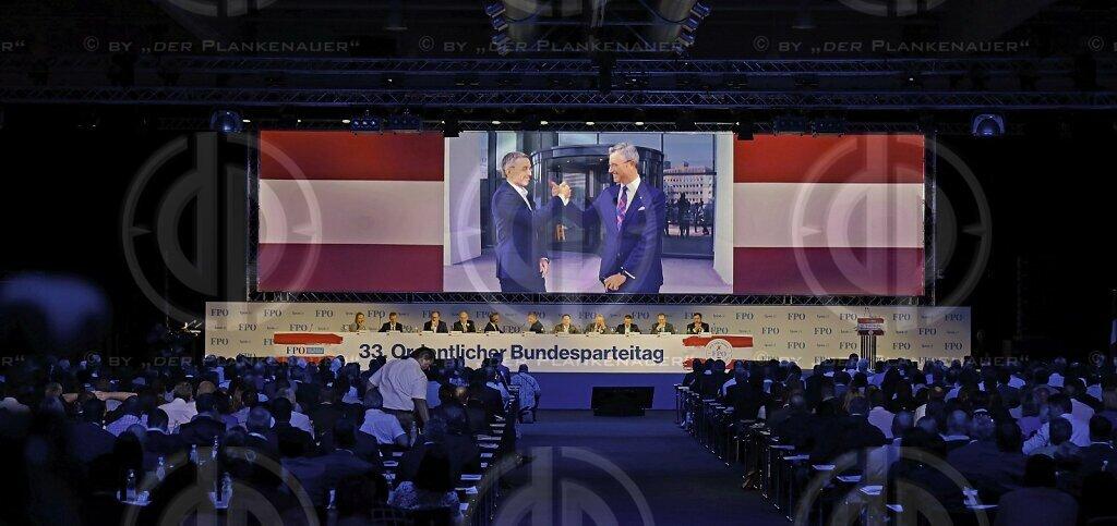 FPÖ-Bundesparteitag 2019 in Graz