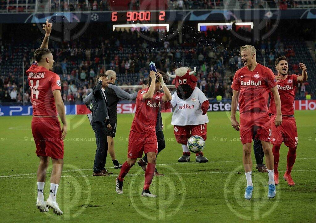 CL FC Red Bull Salzburg vs. KRC Genk (6:2)