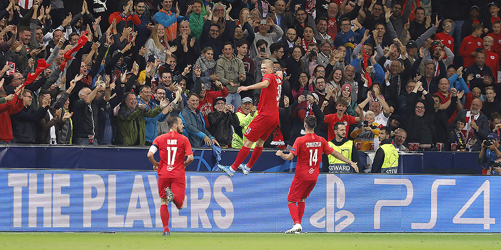Champions League FC Red Bull Salzburg vs. KRC Genk (6:2)