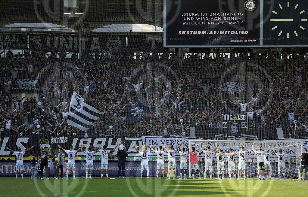 SK Sturm vs. FC Admira (4:1)