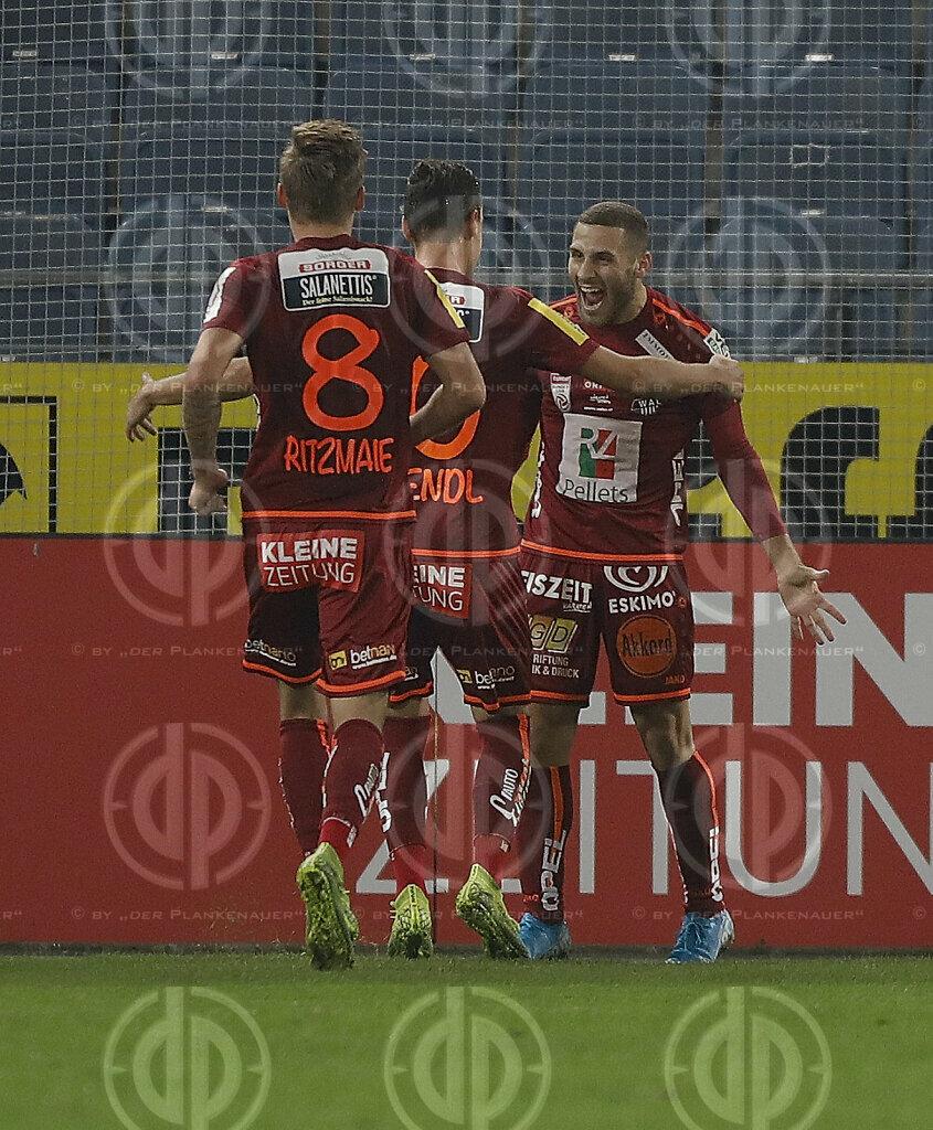 SK Sturm vs. RZ WAC (0:4)
