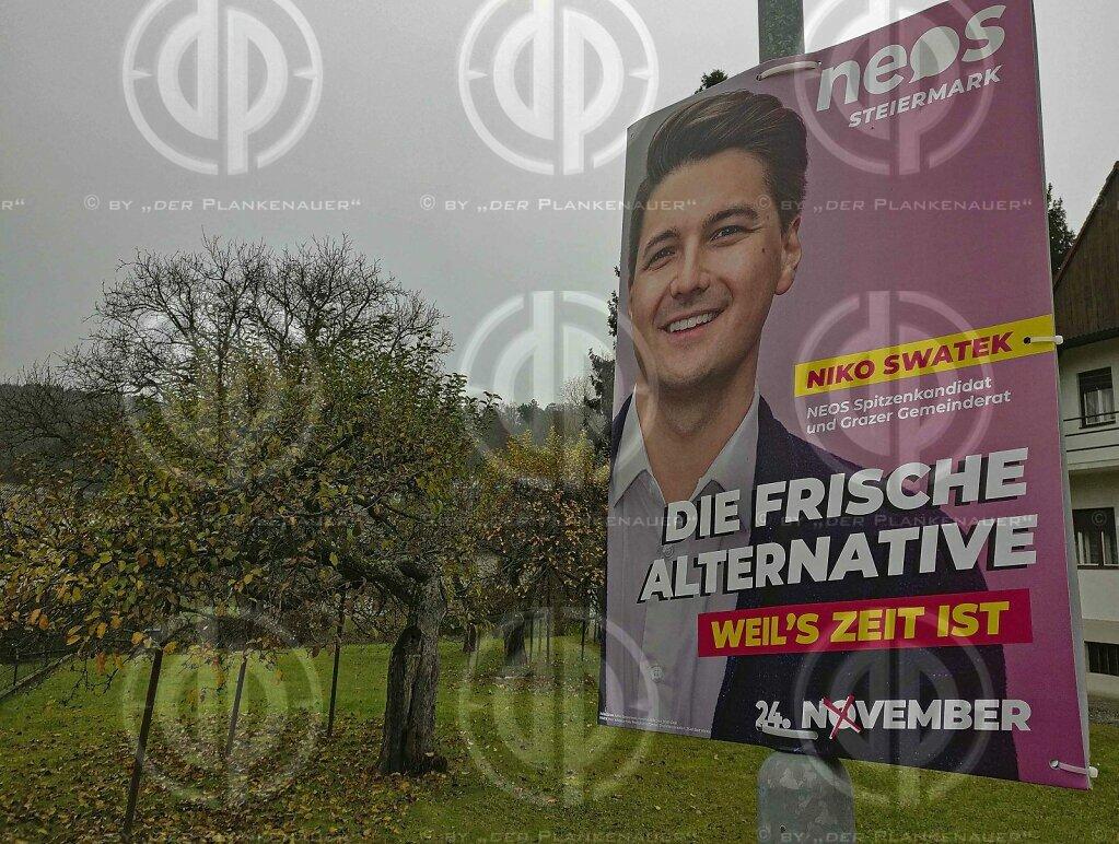 LTWahl19 Steiermark - Wahlplakate