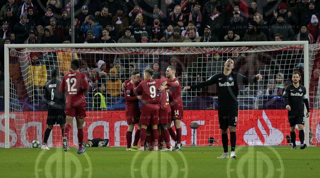Champions League FC Salzburg vs. Liverpool FC (0:2)