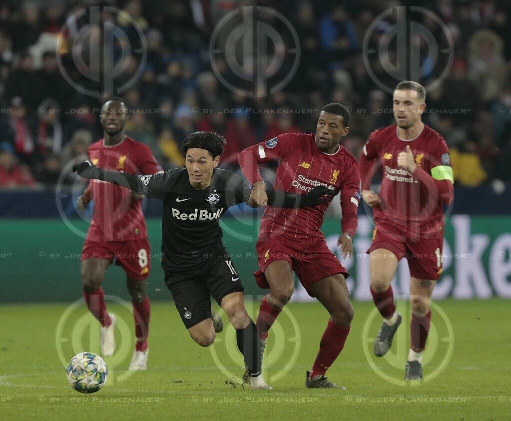 CL FC Salzburg vs. Liverpool FC (0:2)