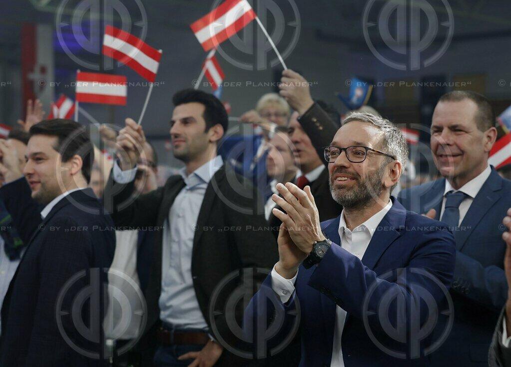 Neujahrstreffen der FPÖ in Oberwart