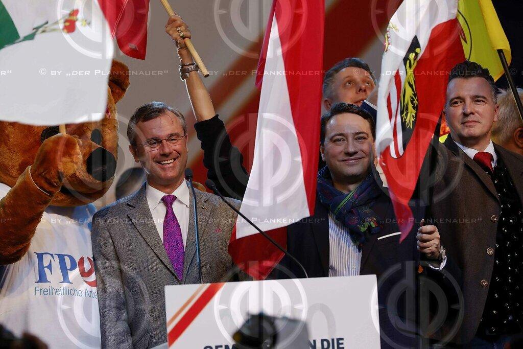 Neujahrsempfang der FPÖ in Oberwart