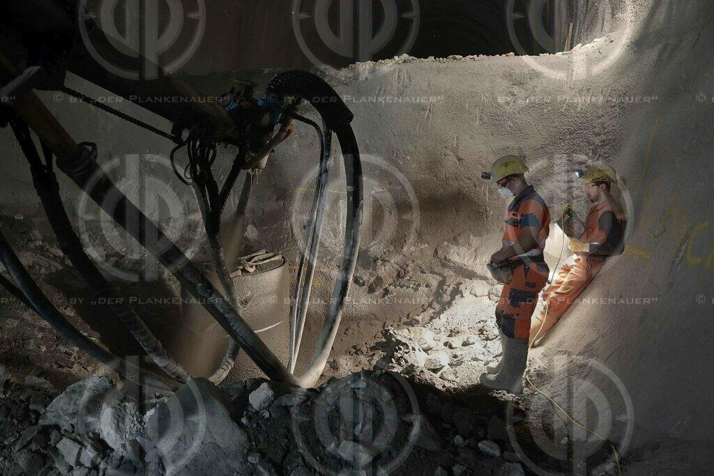 Semmering Basistunnel - Baustelle Fröschnitzgraben