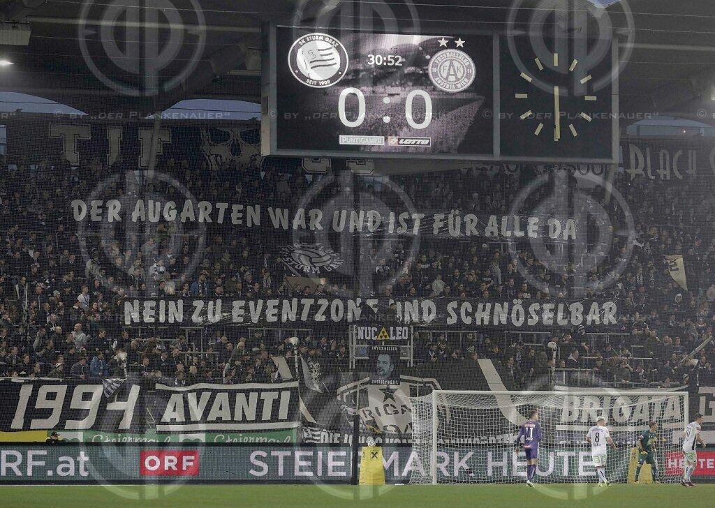 SK Sturm vs. FK Austria Wien (1:1)