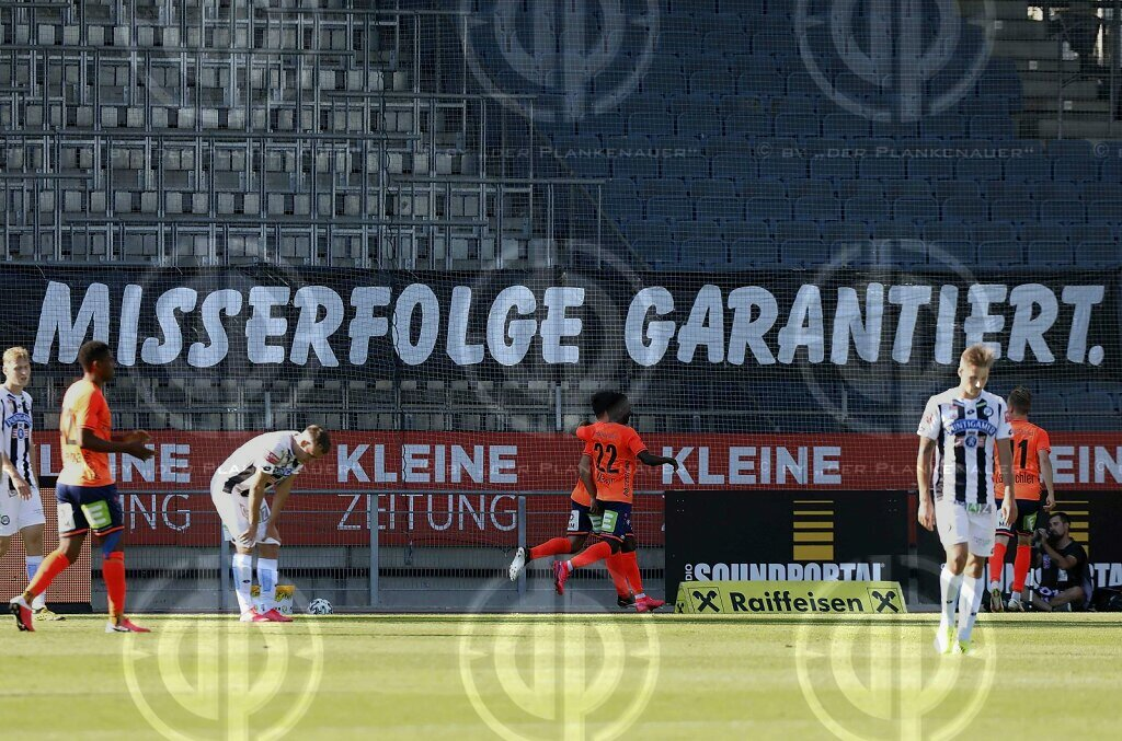 SK Sturm vs. TSV Hartberg (1:4)