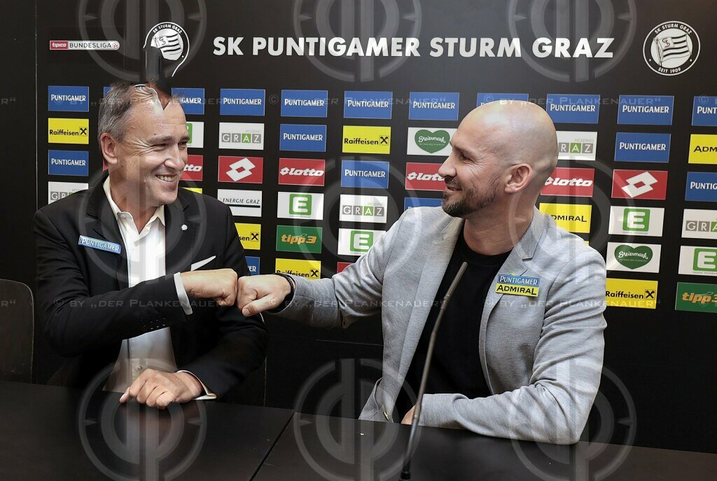 SK Sturm - Christian ILZER neuer Cheftrainer