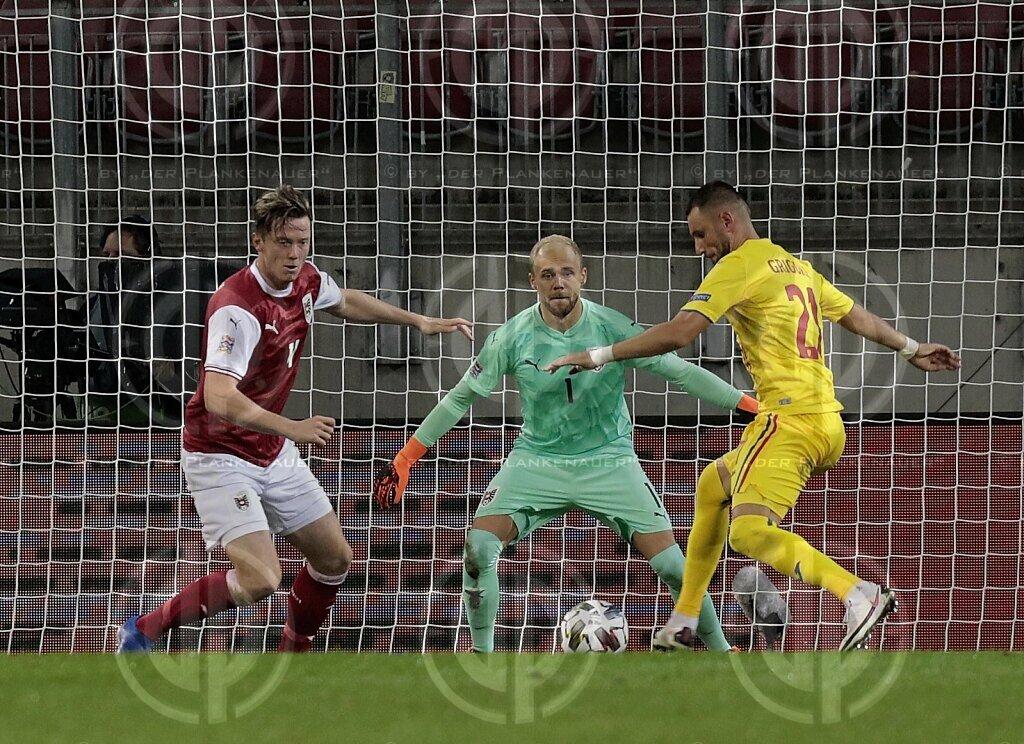 Länderspiel UEFA NL Österreich vs. Rumänien