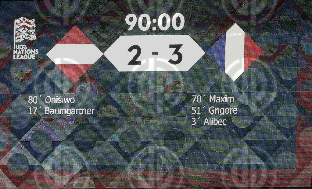 Länderspiel UEFA NL Österreich vs. Rumänien (2:3)