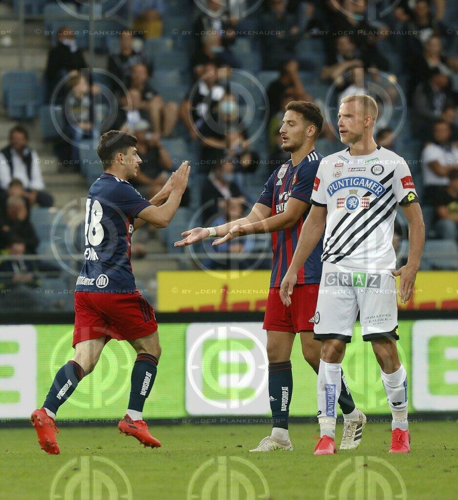 SK Sturm vs. SK Rapid (1:1)