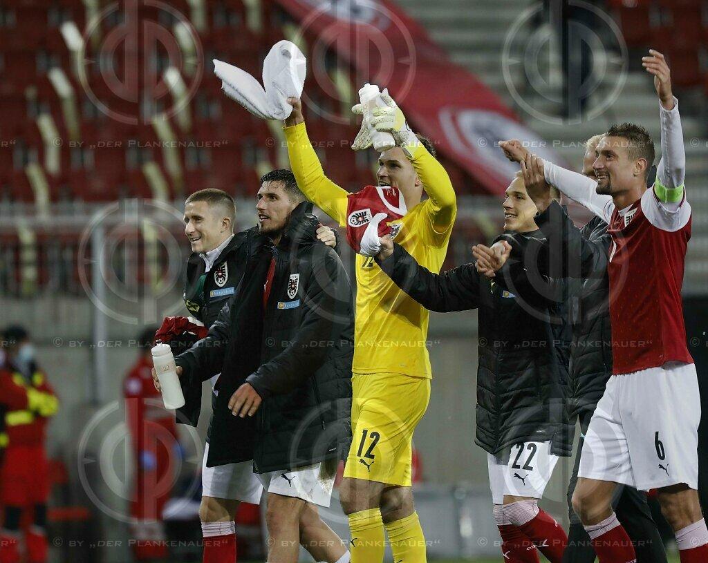 Länderspiel  Österreich vs. Griechenland (2:1)