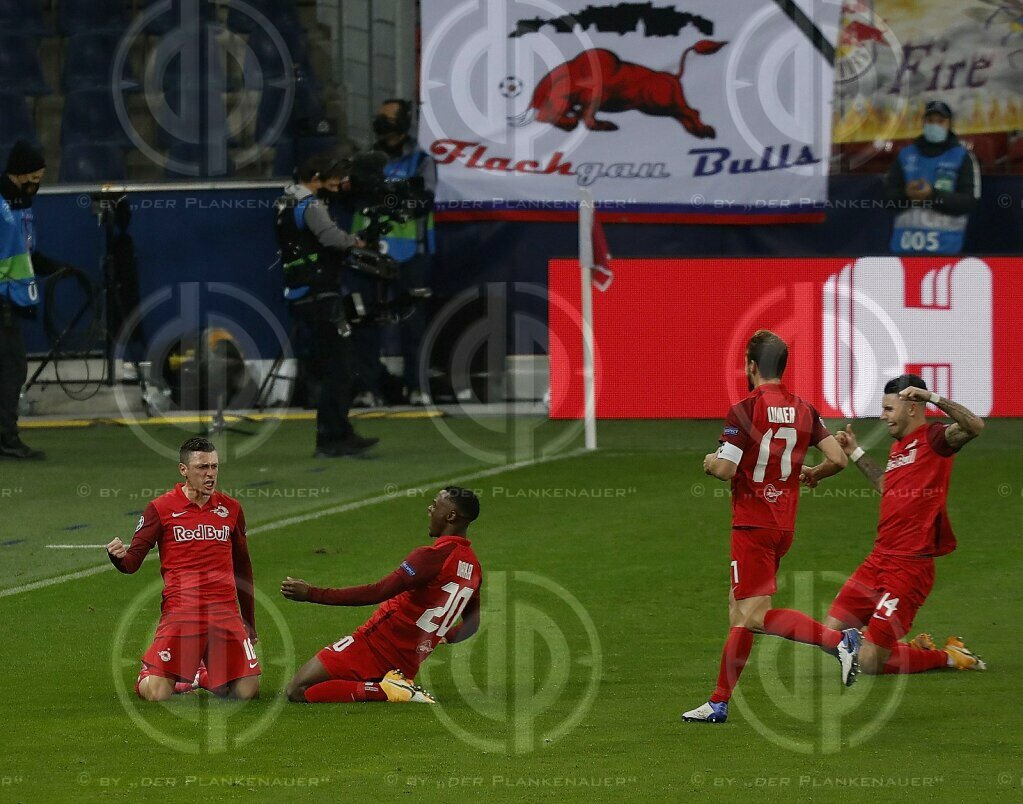 CL FC Red Bull Salzburg vs. Lokomotive Moskau (2:2), 21.10.2020