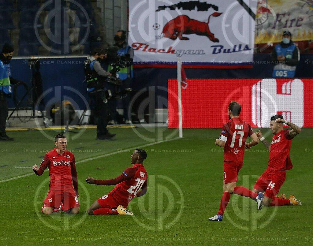 CL FC Red Bull Salzburg vs. Lokomotive Moskau (2:2), 21.10.2020