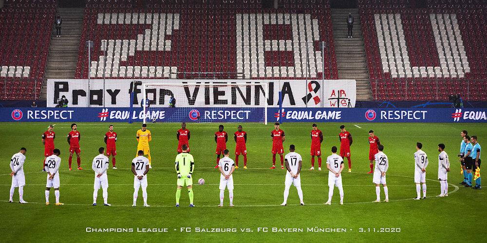 CL FC Red Bull Salzburg vs. Bayern München (2:6),  03.11.2020