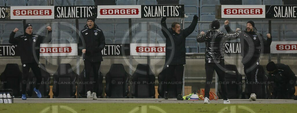 SK Sturm vs. WSG TIROL (1:0) am 28.11.2020