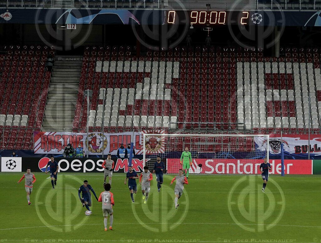CL FC Red Bull Salzburg vs. Atletico Madrid (0:2),  09.12.2020