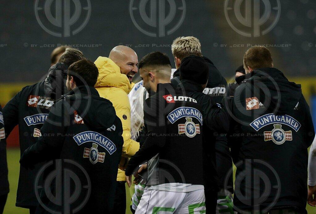 SK Sturm vs. FC Admira (3:0) am 12.12.2020