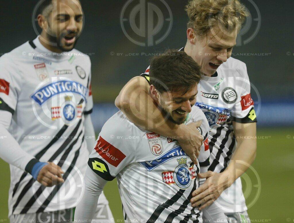 SK Sturm vs. TSV Hartberg (2:1) am 26.01.2021