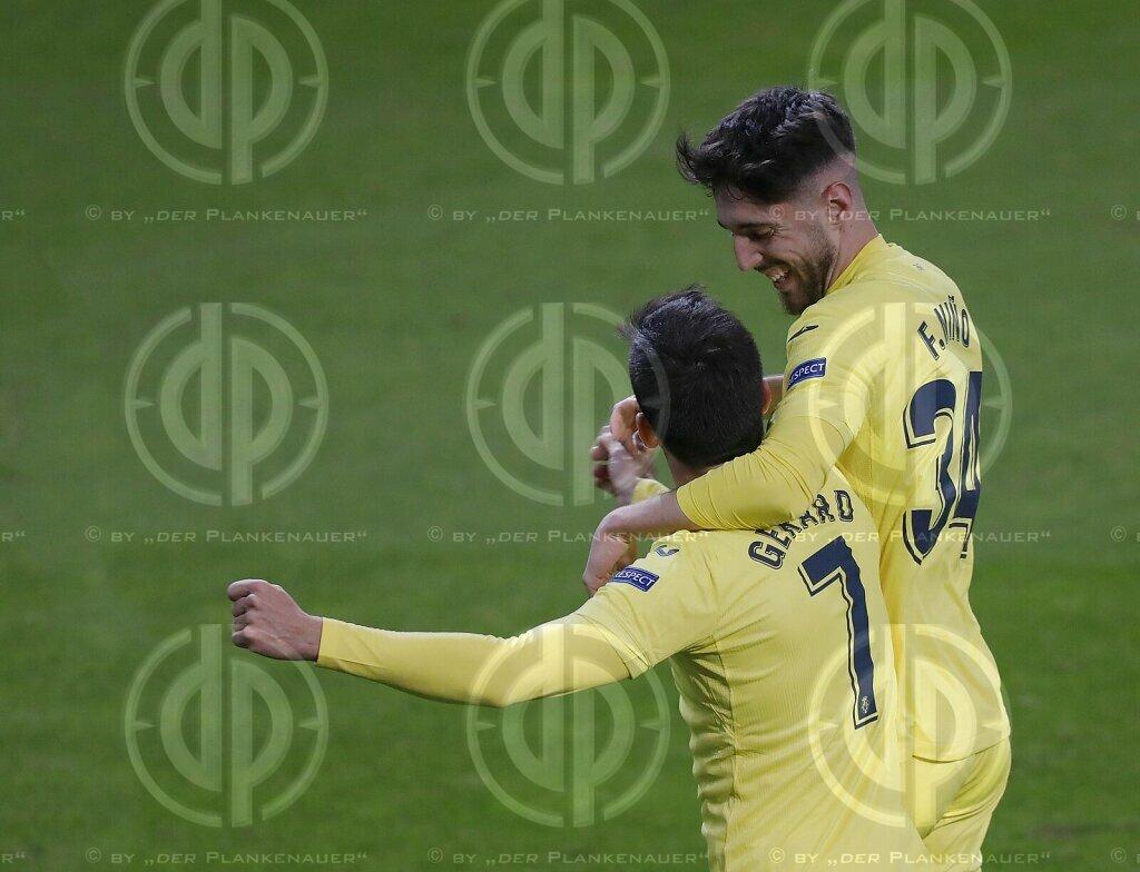 Europa League FC Salzburg vs. Villareal CF (0:2) am 18.02.2021