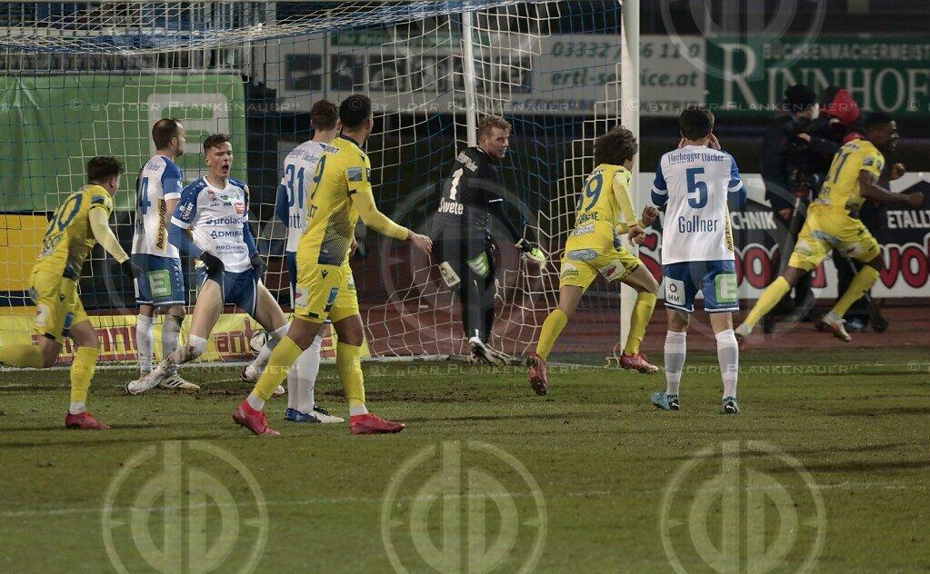 TSV Hartberg vs. SKN St. Pölten (3:3) am 21.03.2021
