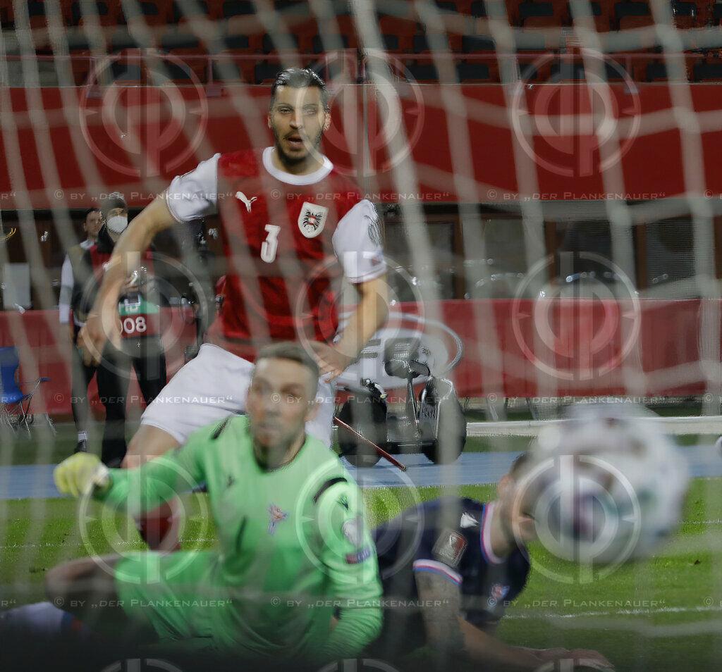 WM 2022 Qualifikation Österreich vs. Färöer (3:1), 28.03.2021