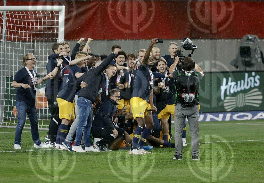 Cup Finale LASK vs. Red Bull Salzburg (0:3) am 01.05.2021