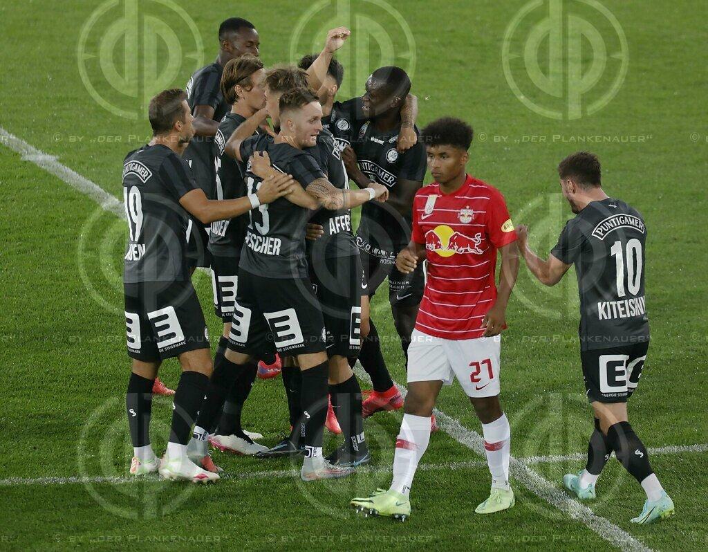 SK Sturm vs. Red Bull Salzburg (1:3) am 23.07.2021