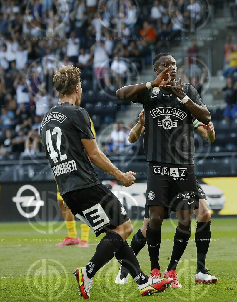 SK Sturm vs. SCR Altach (3:1) am 07.08.2021