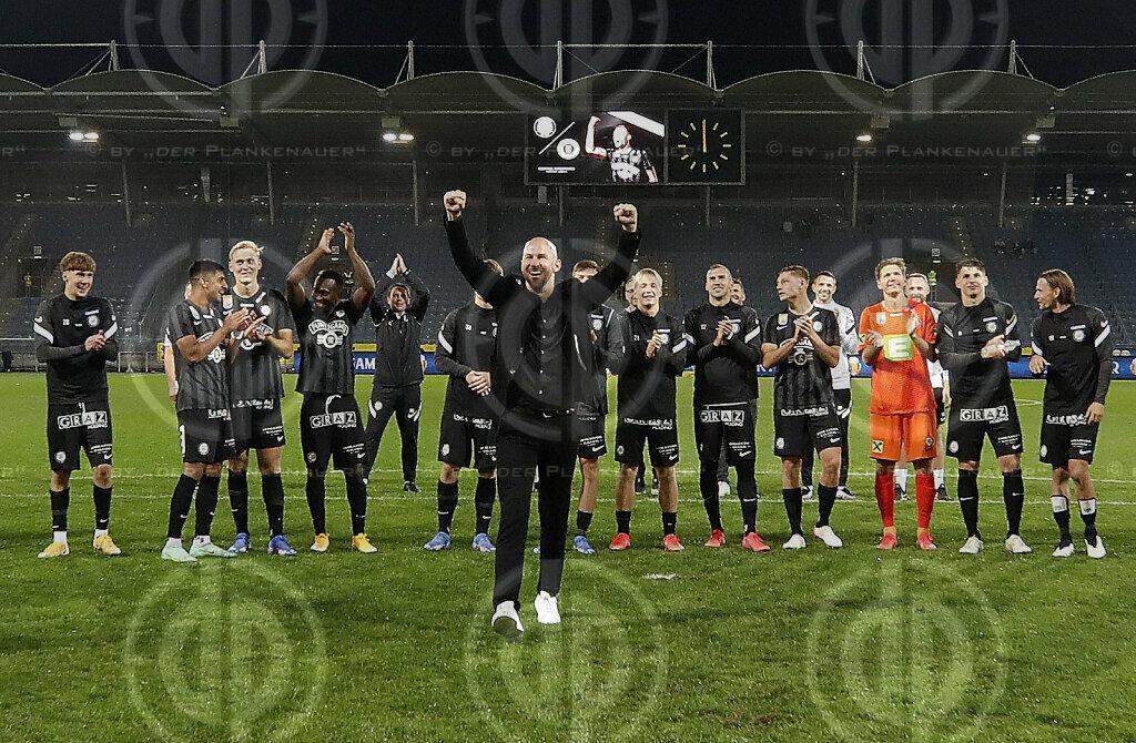 EL-Quali SK Sturm vs. NS Mura (2:0) am 26.08.2021